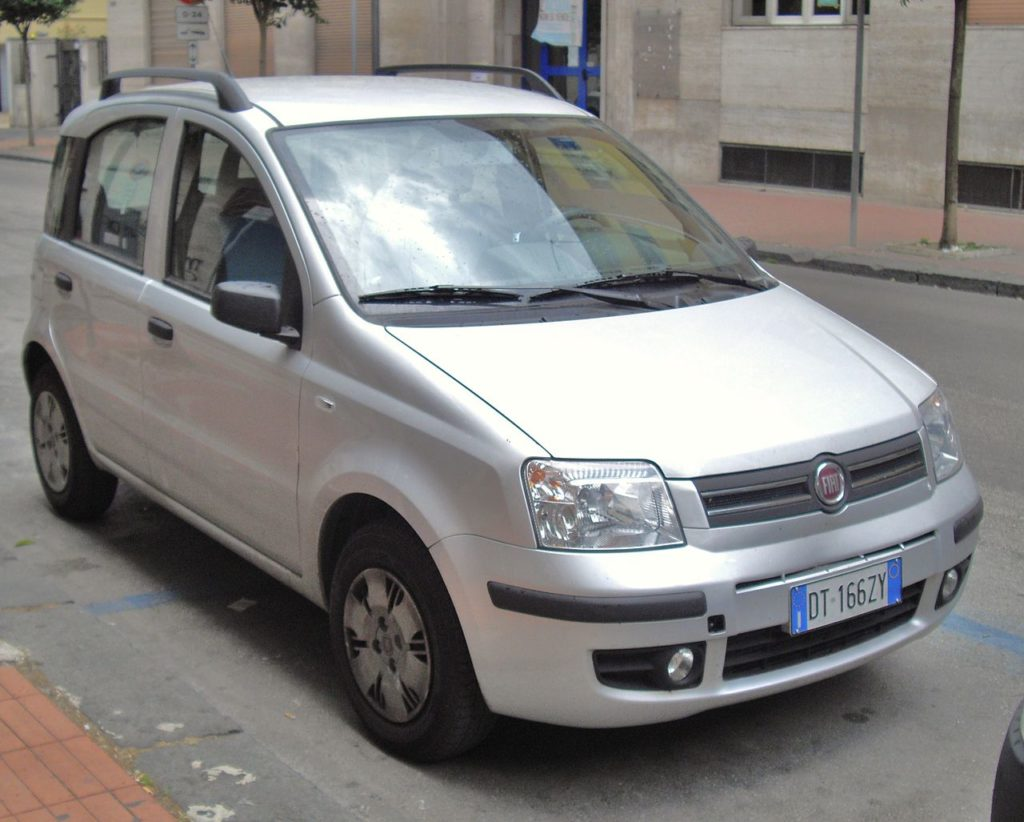 Fiat Panda 1.2 Dynamic, zdroj: Wikimedia commons