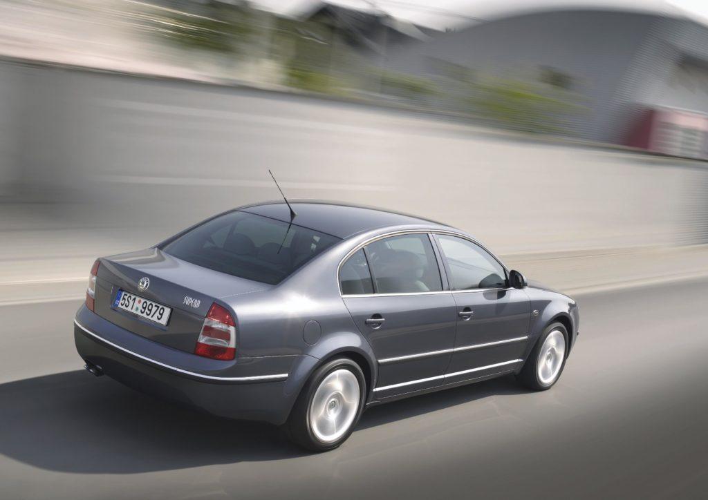 Škoda Superb 1. generace (model 2007), foto: Škoda auto