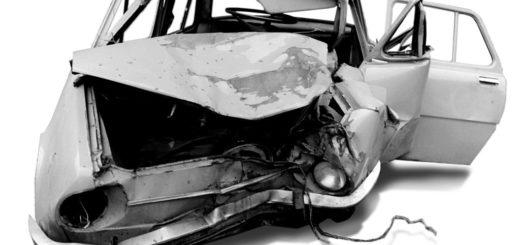 Nabourané auto, ilustrační foto, autor: Takkk - vlastní dílo, CC BY-SA 3.0, https://commons.wikimedia.org/w/index.php?curid=10029266