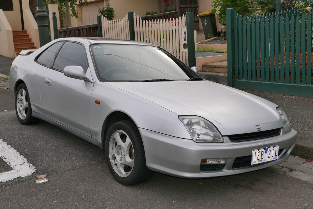 Honda Prelude (1999), foto: OSX, volné dílo, https://commons.wikimedia.org/w/index.php?curid=46400206