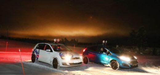 ADAC Ttst zimních pneumatik ve Finsku, foto: ADAC
