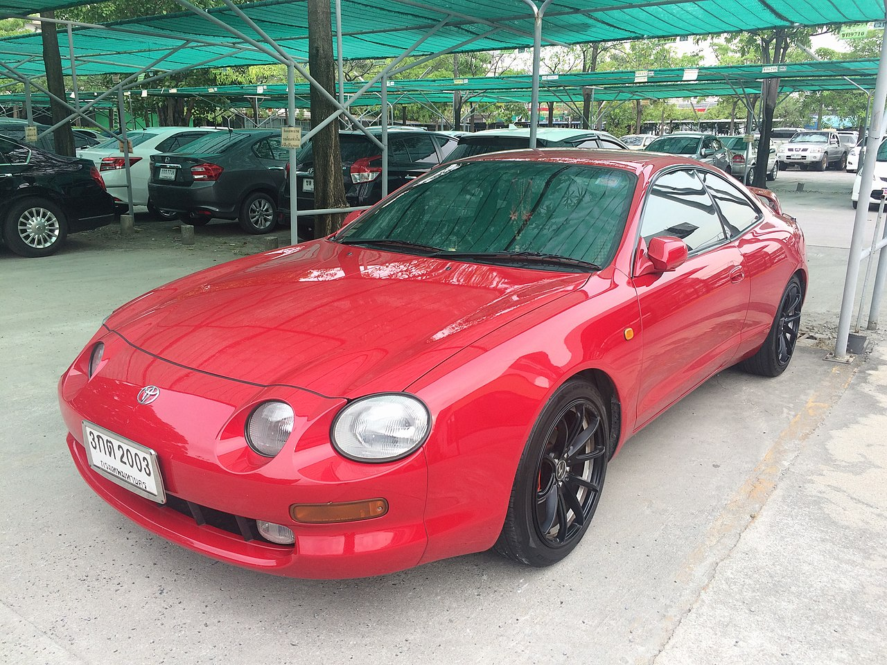 Toyota Celica ´1995, foto: Jirapat Chroenkeskij - vlastní dílo, CC0, https://commons.wikimedia.org/w/index.php?curid=70370562
