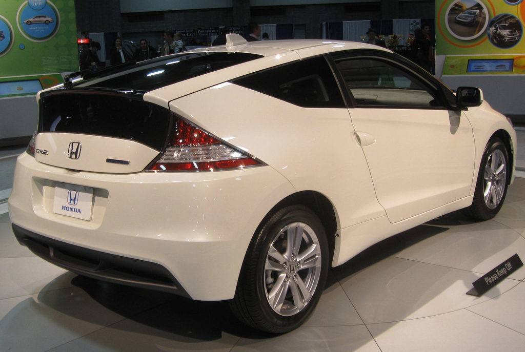 Honda CR-Z, foto: IFCAR - Own work, Public Domain, https://commons.wikimedia.org/w/index.php?curid=9215175