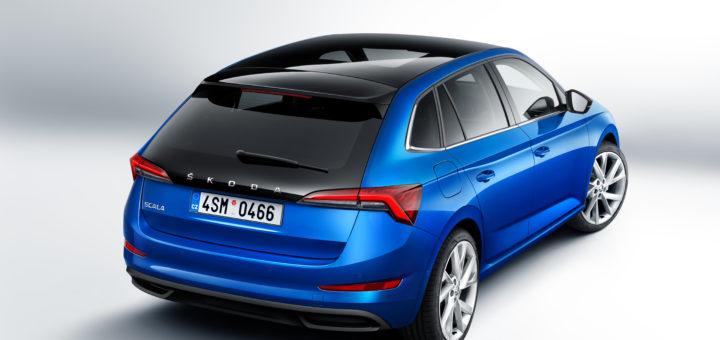 Škoda Scala, Škoda auto