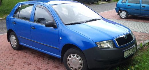 Škoda Fabia Junior, foto: Alofok - vlastní dílo, CC BY-SA 3.0, https://commons.wikimedia.org/w/index.php?curid=10872793