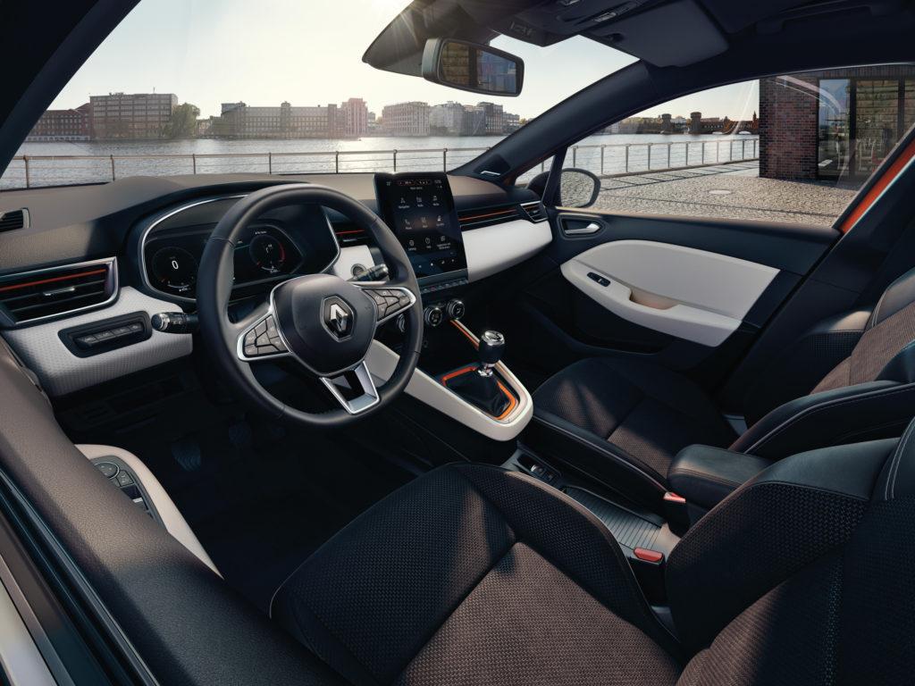 Nový Renault Clio má parádní interiér, foto: Renault