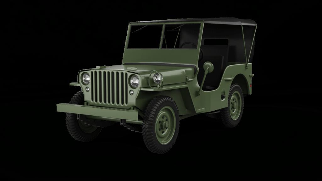 Willys MB 1943, foto repro 3D model od HUM3D.com