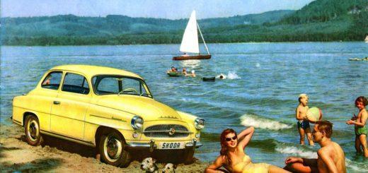 Škoda Octavia na dobovém snímku, foto: Škoda auto