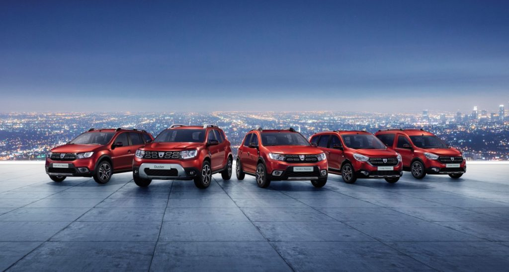 Rodina Dacia Techroad, foto: Renault