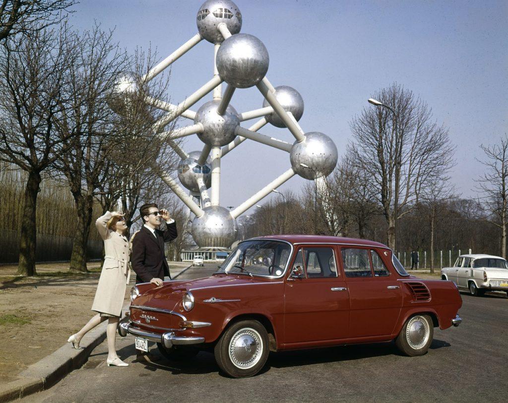 Škoda 1000 MB na dobovém snímku, foto: Škoda auto
