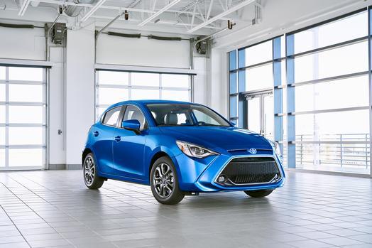 Toyota Yaris pro rok 2020 a americký trh, foto: Toyota USA