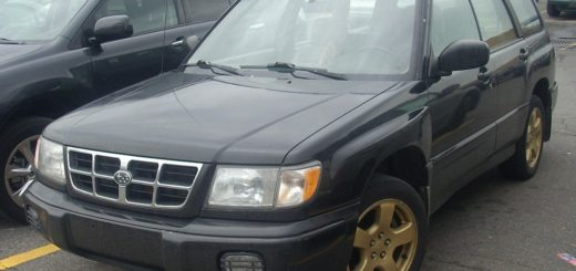 Subaru Forester, foto: Bull-Doser - vlastní dílo, Public Domain, https://commons.wikimedia.org/w/index.php?curid=4920614