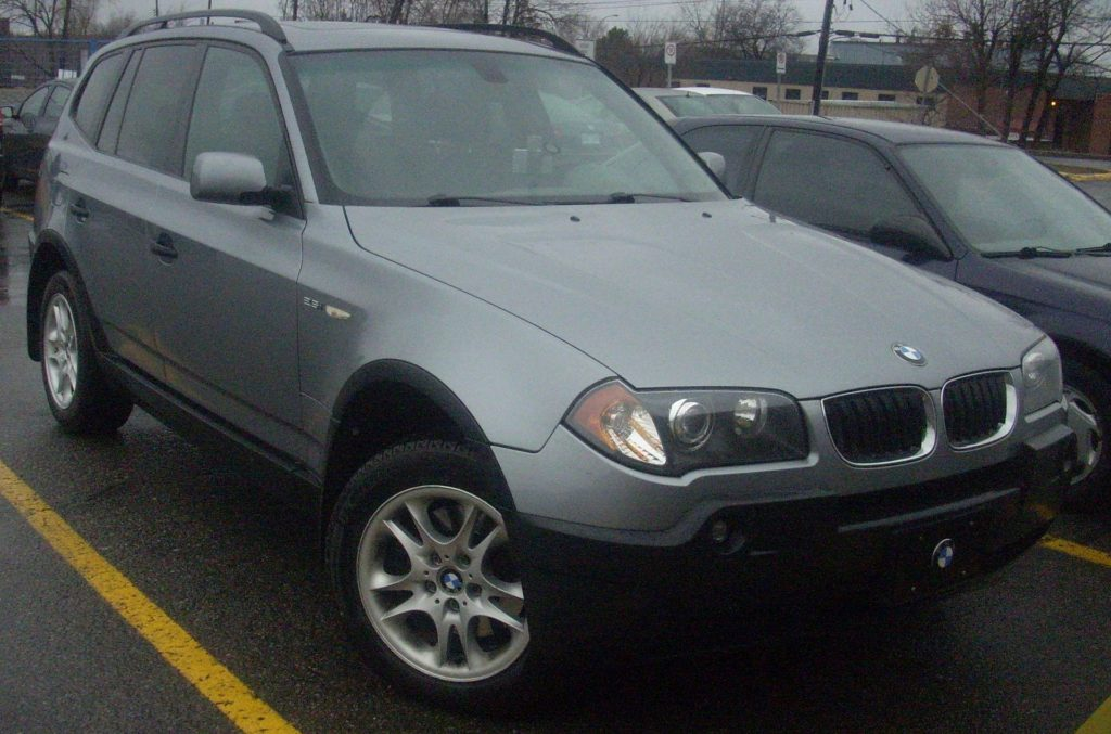 BMW X3, foto: Bull-Doser, Public Domain, https://commons.wikimedia.org/w/index.php?curid=10273003