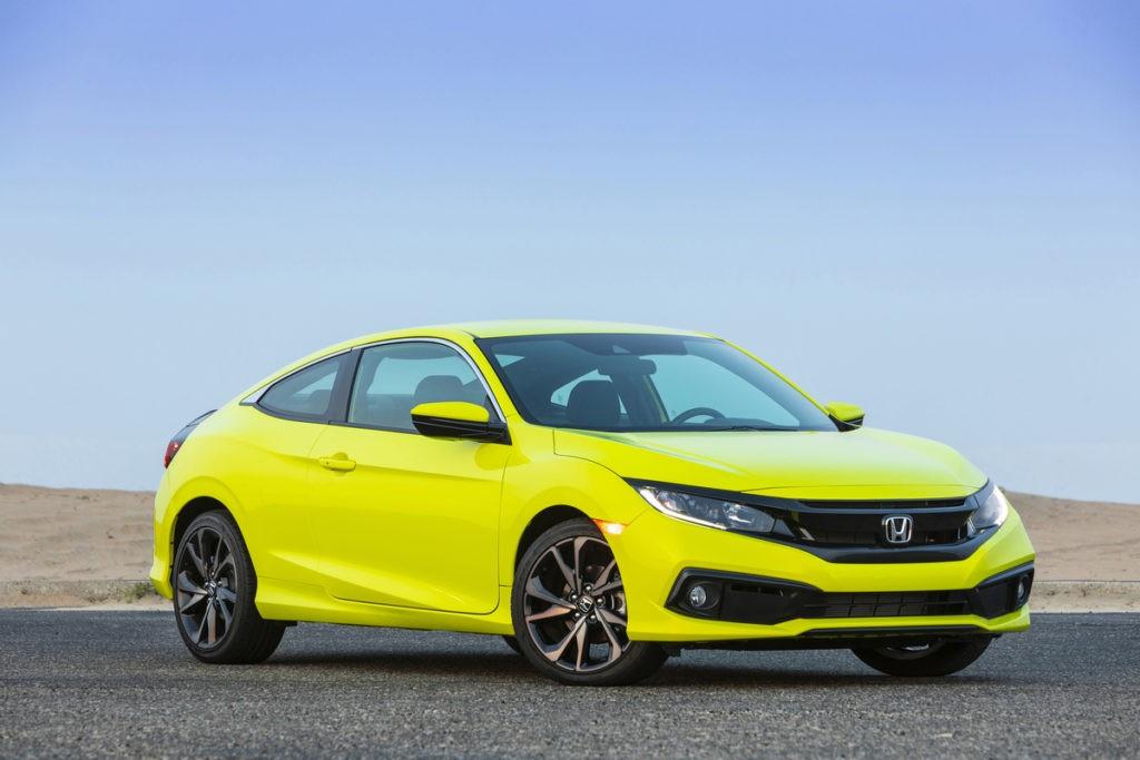 2019 Honda Civic Coupe Sport, foto: Honda