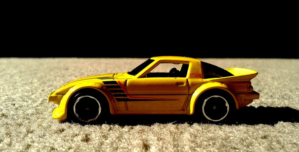 Mazda RX-7 (Hot Wheels), zdroj: Pixabay