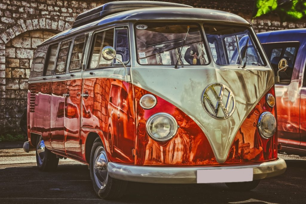 Volkswagen T1 - VW Bus, zdroj: Pixabay