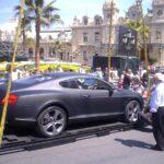 Matné Bentley v Monte Carlu