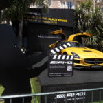 Mercedes-Benz SLS Black Series v Cannes