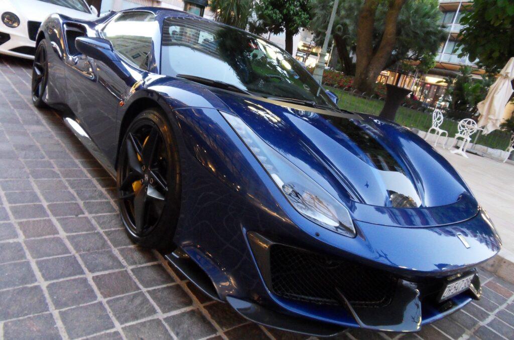 Dynamická dokonalost Ferrari
