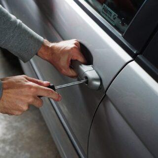 Krádeže aut, ilustrační foto